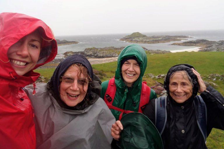 32 rain scotland hiking fun