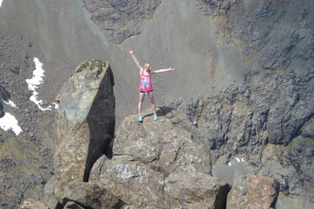 Cuillin Ridge Isle of Skye Scotland Solo Adventure