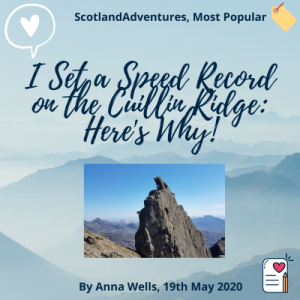 I set a speed record on the cuillin ridge here is why blog