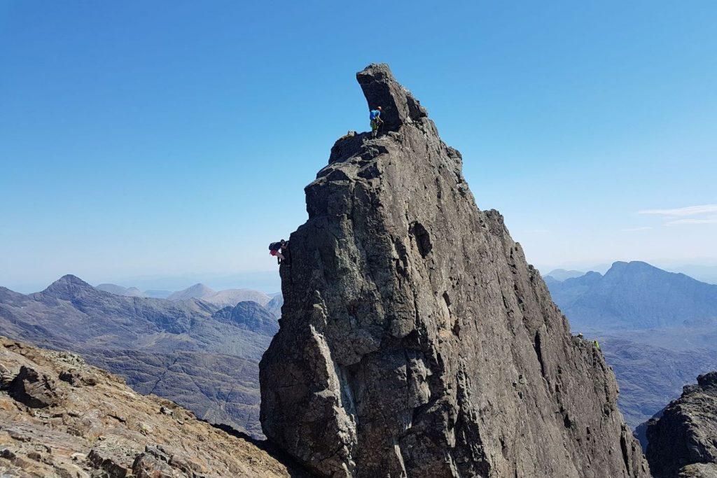 Inaccessible Pinnacle Isle of Skye Cuillin Traverse Speed Record Scotland