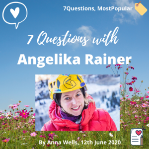 7 questions with angelika rainer