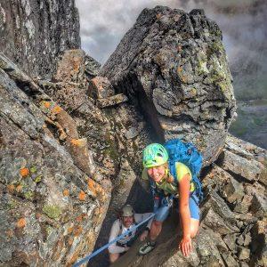 Ben Nevis Scrambling Tower Ridge 6