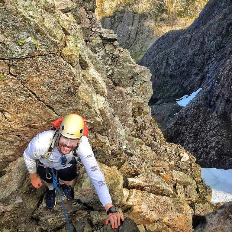 Ben Nevis Scrambling Tower Ridge 6 7