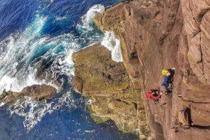Old Man of Stoer Rock Climbing Sea Stack 5