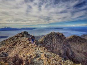 Guided Cuillin Ridge Traverse Coire Lagan