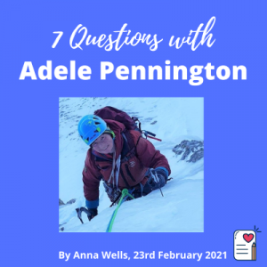 7 questions post cover template Adele Pennington