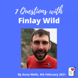 7 questions with finlay wild interview cover photo