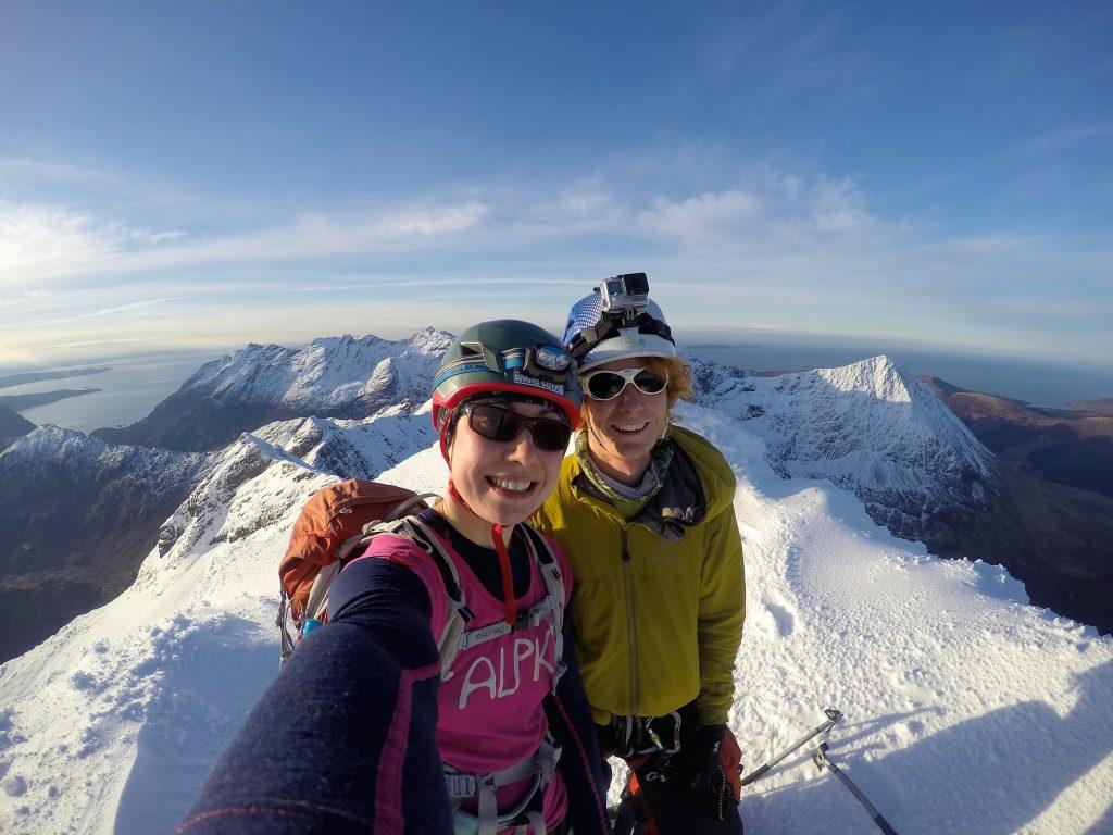 Cuillin Ridge full winter traverse