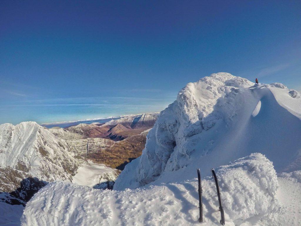 cuillin ridge winter traverse isle of skye scotland