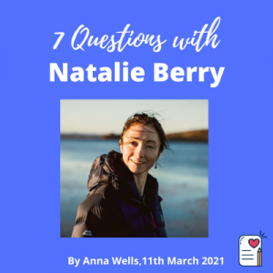 7 questions post cover template Natalie Berry
