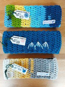 Hand made CozeeYarn headbands rocks and trails (4)